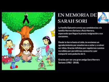 En memoria de Sarah Sori