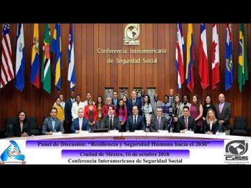 """Panel de Discusión: """"Resiliencia y Seguridad Humana hacía el 2030"""""""